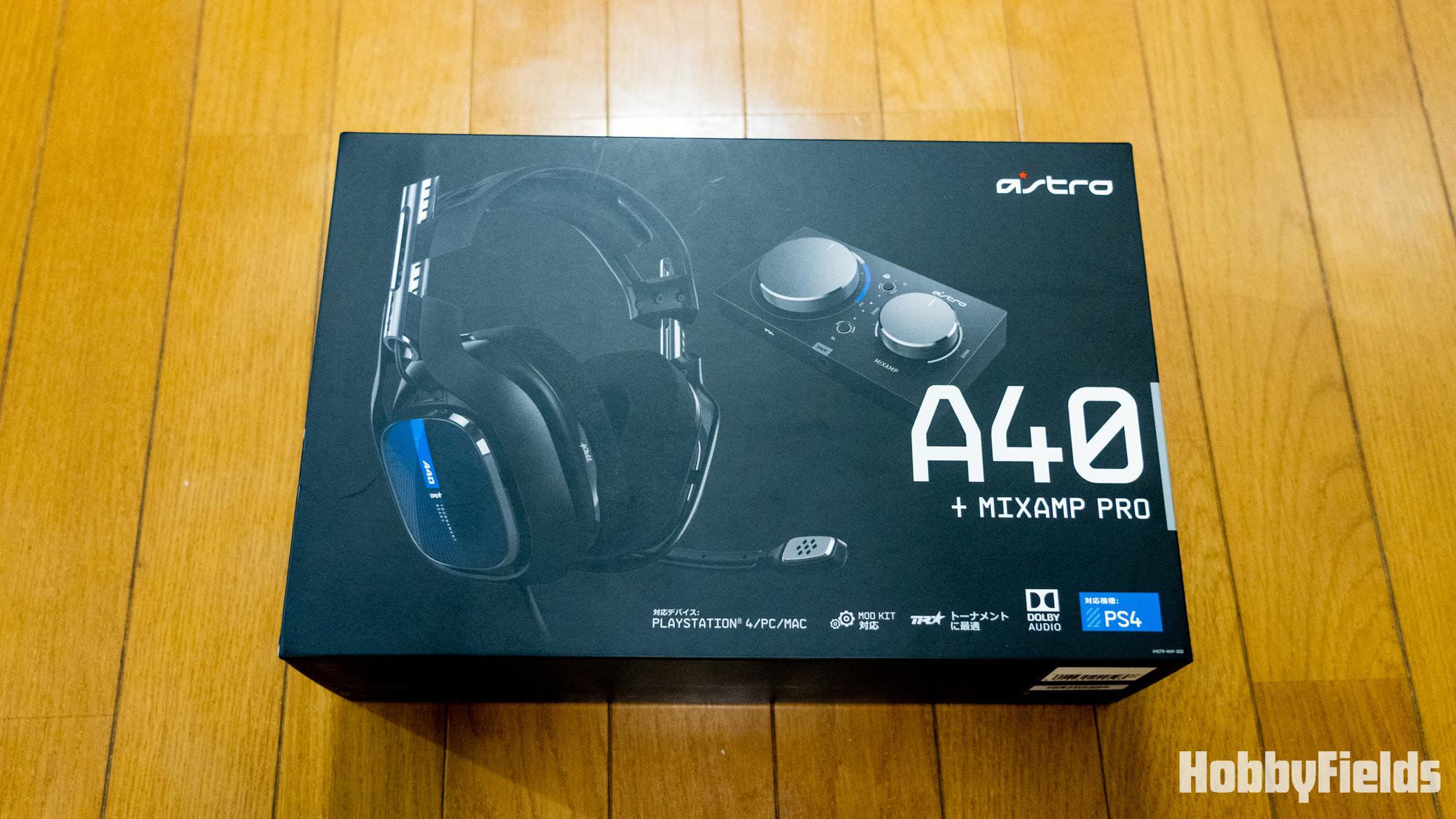 ASTRO A40+MIXAMP PRO ヘッドセット