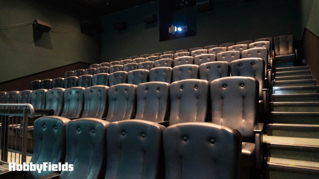 まるで映画館