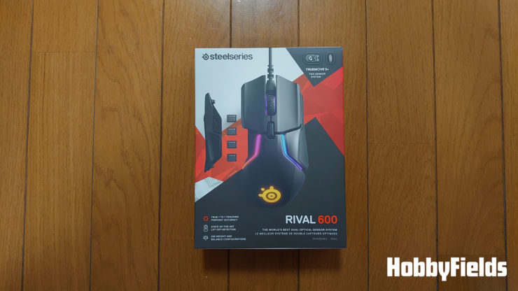 SteelSeries RIVAL 600マウス